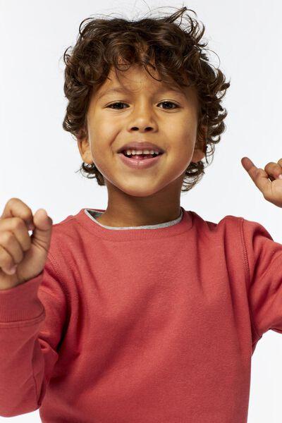 Kinder-Sweatshirt terrakotta terrakotta - 1000025562 - HEMA