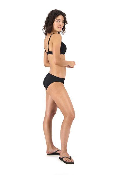 women's padded bikini top push up black black - 1000017946 - hema