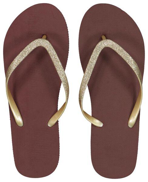 women's slippers red red - 1000018090 - hema