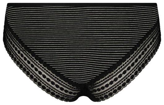 women's Rio panties cotton black/white black/white - 1000018664 - hema