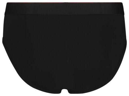 2-pak herenslips real lasting cotton zwart zwart - 1000018781 - HEMA