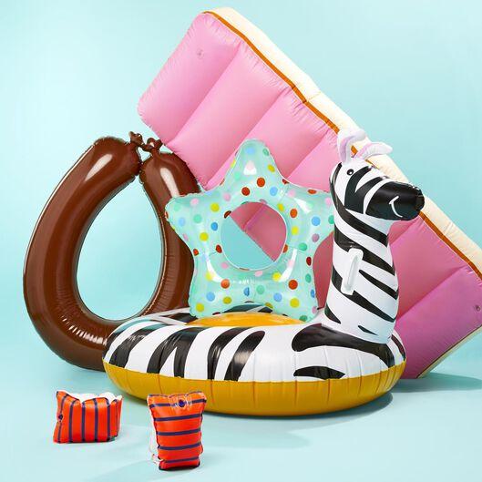 aufblasbares Zebra – 128 x 95 x 95 cm - 15810021 - HEMA