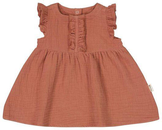 Baby-Kleid braun braun - 1000023549 - HEMA
