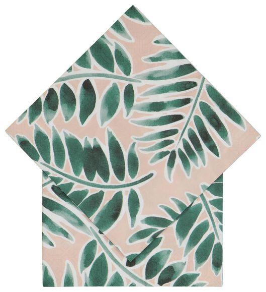 20er-Pack Servietten, 33 x 33 cm, Papier, Blätter - 14200458 - HEMA