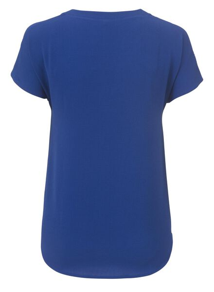 women's top cobalt blue cobalt blue - 1000006765 - hema