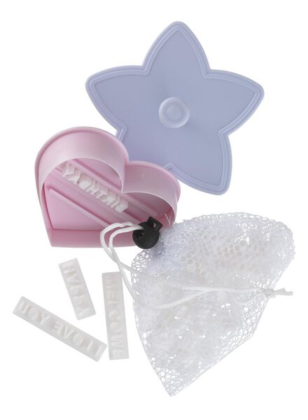 Image of HEMA 2-pack Cookie Cutter With Alphabet And Quotes (pink)