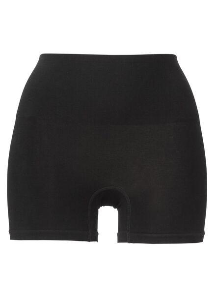seamless, figure-shaping women's boxers with bamboo black black - 1000002369 - hema