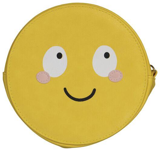 Tasche, Ø 18 x 6 cm, Smiley - 61140037 - HEMA