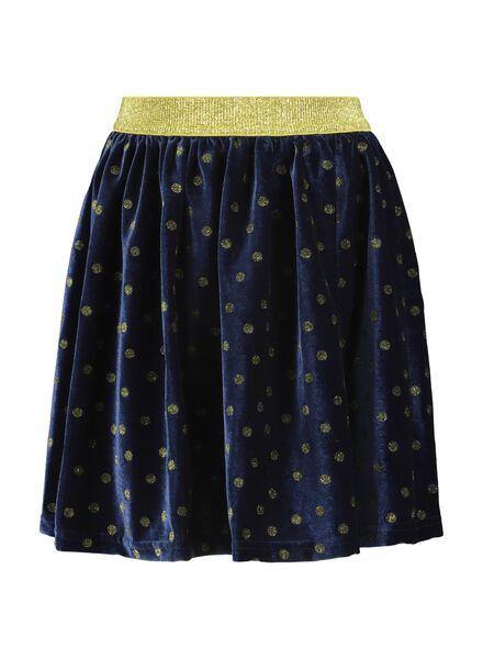 jupe enfant bleu bleu - 1000016839 - HEMA