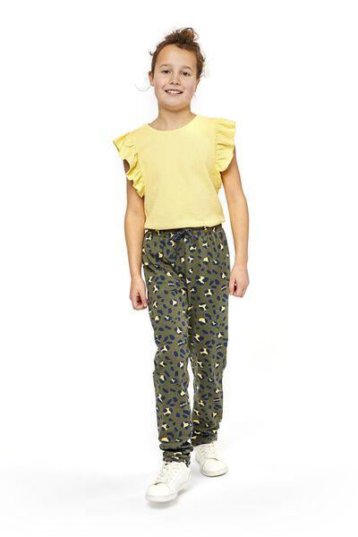 children's T-shirt yellow yellow - 1000018874 - hema