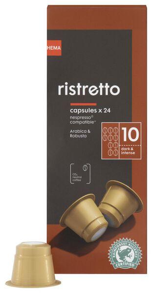 24-Pack Kaffeekapseln Ristretto - 17180008 - HEMA
