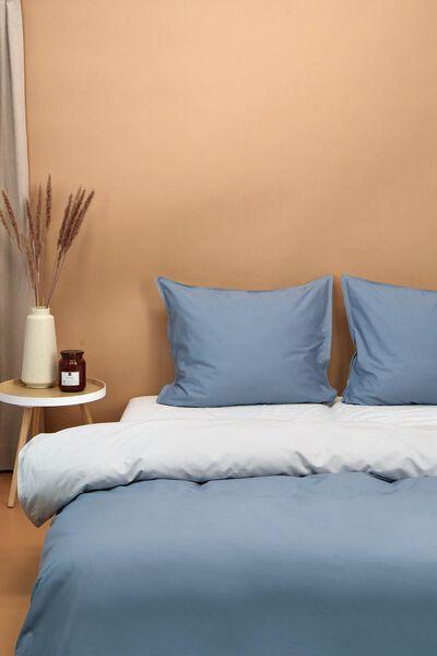 housse de couette coton lyocell bleu clair/gris bleu - 1000024328 - HEMA