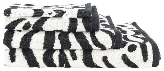 towel - heavy quality white/black white/black - 1000019510 - hema