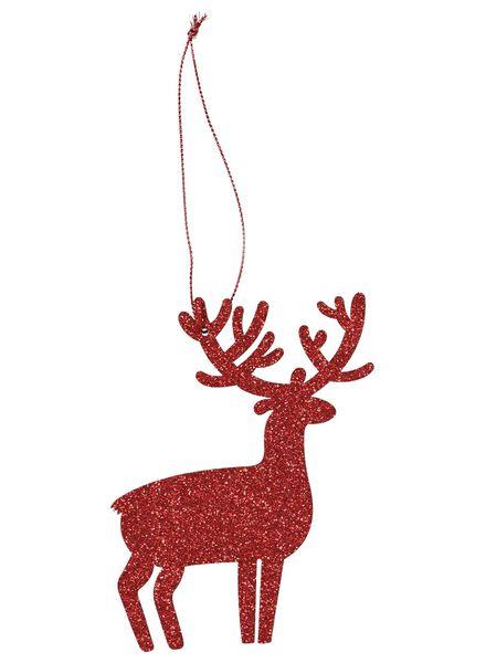 6 décorations de Noël en bois - 25100568 - HEMA