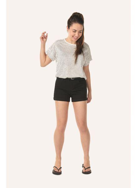 women's T-shirt beige beige - 1000007259 - hema