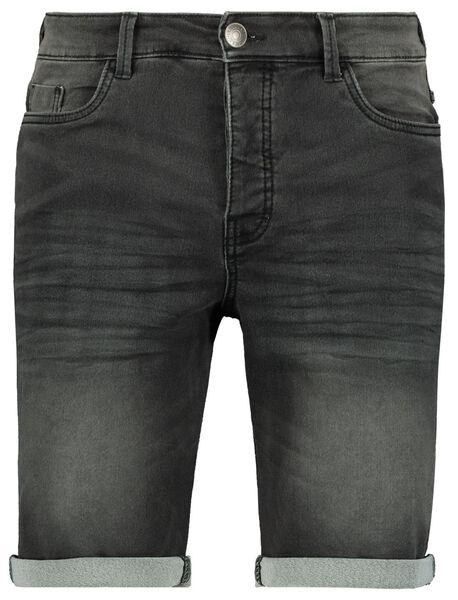 kurze Herren-Jogdenim schwarz schwarz - 1000023610 - HEMA