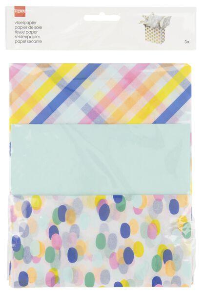 vloeipapier - 70x50 - 3 stuks - 14700334 - HEMA