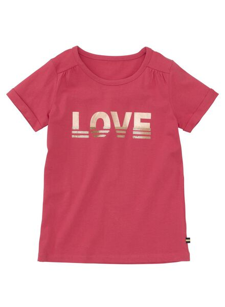 children's T-shirt pink pink - 1000005853 - hema