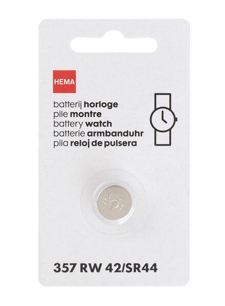 Uhrenbatterie 357 / RW42 / SR44 - 41290285 - HEMA