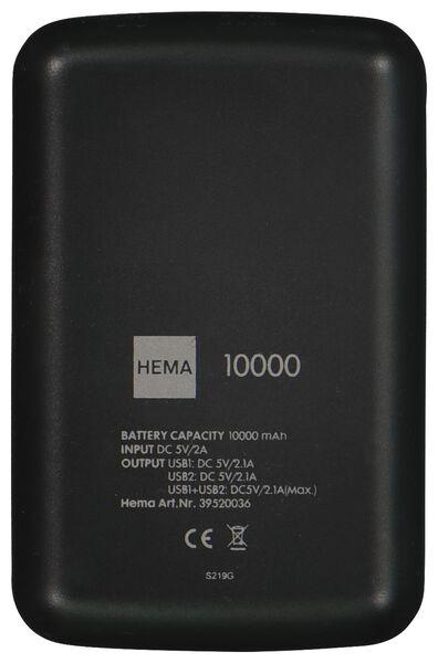 batterie de secours 10000mAh - 2,1A - 39520036 - HEMA