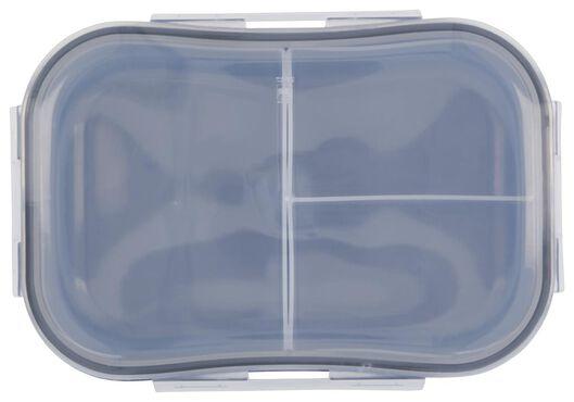 boîte à déjeuner avec compartiments indépendants bleu - 80600120 - HEMA