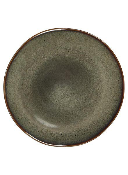 breakfast plate 20 cm - Porto reactive glaze - taupe - 9602050 - hema