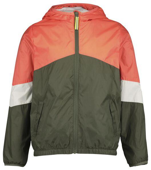 Kinder-Jacke mit Kapuze grün grün - 1000017754 - HEMA