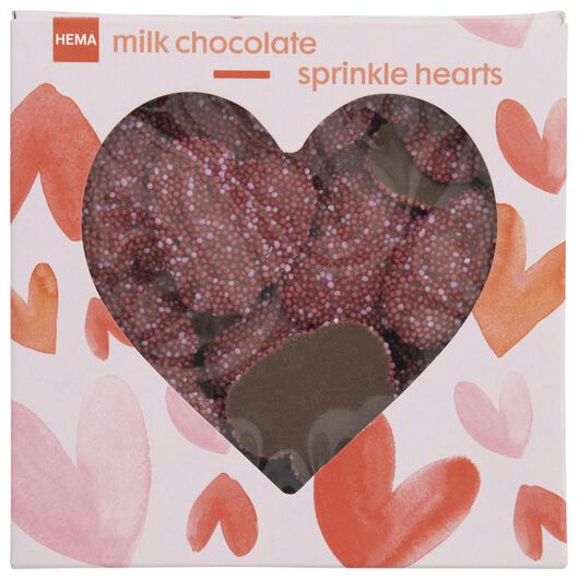 sugar pearl hearts 150 grams - 10050014 - hema