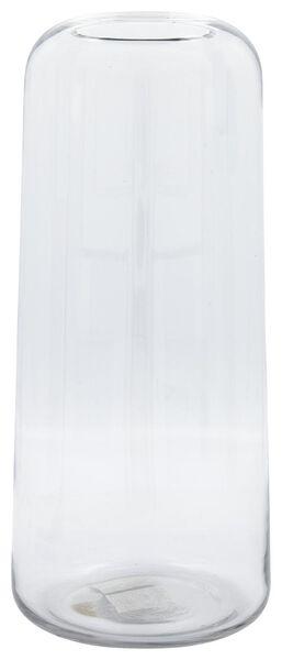 Vase, Ø 17 x 38 cm, recyceltes Glas - 13311069 - HEMA