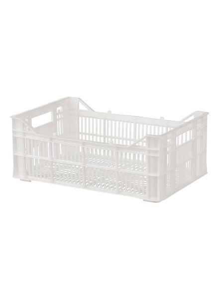 cageot 30 x 20 x 11 cm - blanc - 39891040 - HEMA