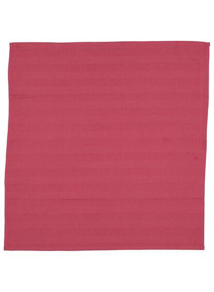 Geschirrtuch, 65 x 65 cm, altrosa - 5400122 - HEMA