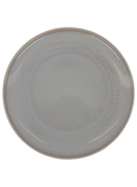 petite assiette 20 cm - helsinki - émail réactif - gris clair - 9602014 - HEMA