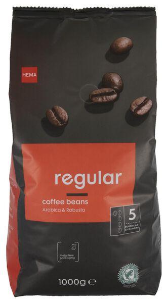 Kaffeebohnen Regular, 1000 g - 17160001 - HEMA