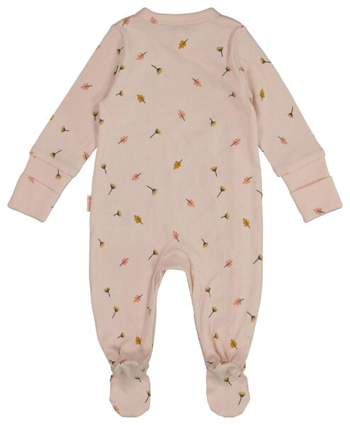 newborn jumpsuit with bamboo pink pink - 1000017638 - hema