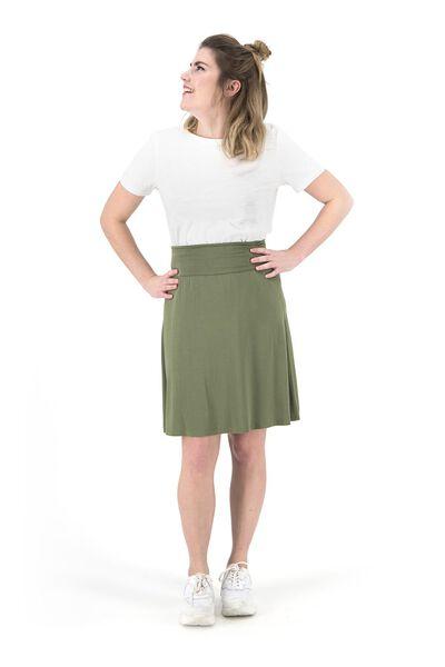 t-shirt femme blanc blanc - 1000019286 - HEMA