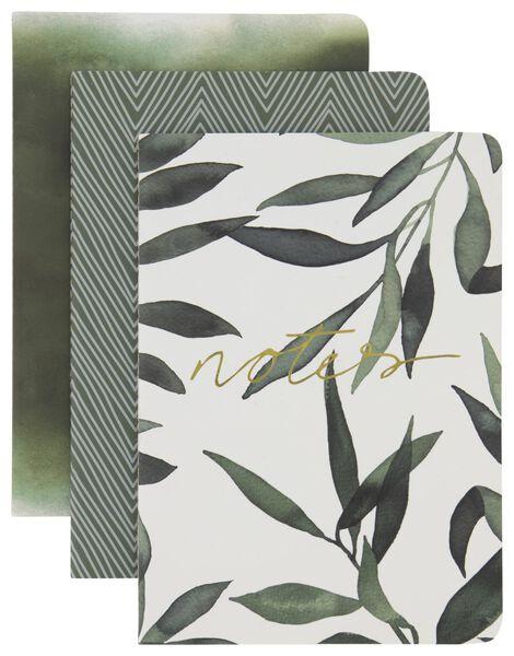 3 cahiers A5-lignés - 14126703 - HEMA