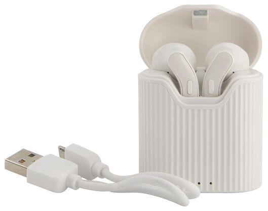 oortelefoon draadloos wit - 39630155 - HEMA