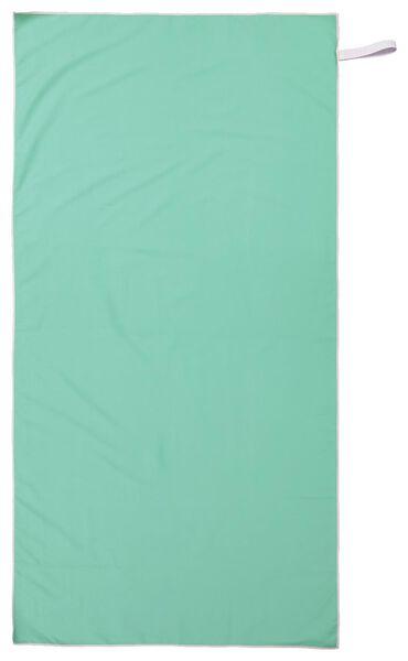 serviette de bain microfibre 110x175 vert - 5290058 - HEMA