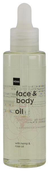 gezichts- en lichaamsolie 75ml - 11330111 - HEMA