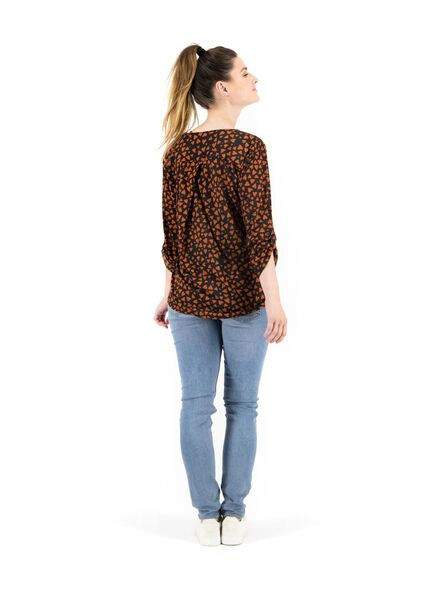 women's top brown brown - 1000014851 - hema