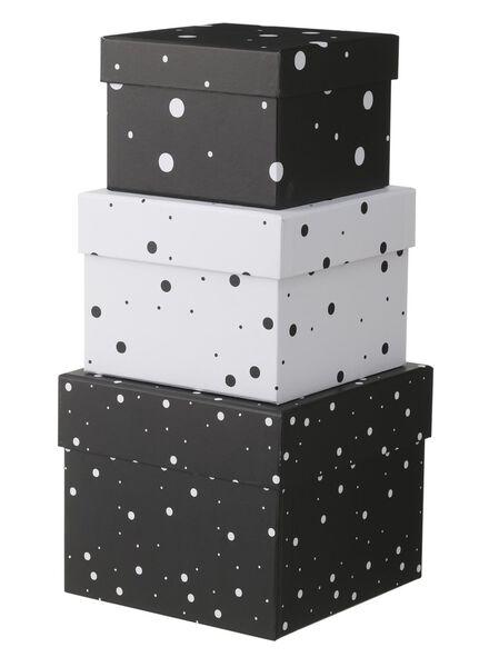 3 boîtes en carton - 39882003 - HEMA
