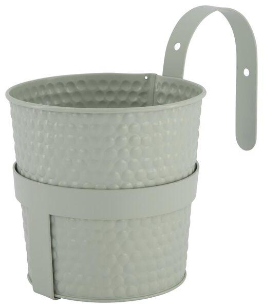cache-pot Ø13x13 avec crochet pour balcon - vert - 41810260 - HEMA