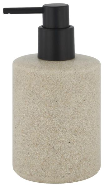 Seifenspender, Ø 8 x 15 cm, Sprenkel, taupe - 80310020 - HEMA