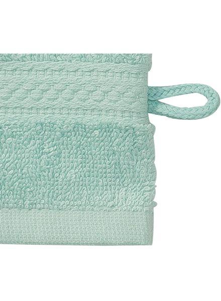 gant de toilette - qualité épaisse - menthe uni - 5240000 - HEMA