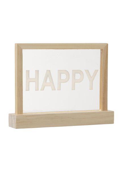Lichtbox mit Text - 60120165 - HEMA
