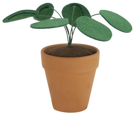 plante en feutrine dans un pot - 13211107 - HEMA