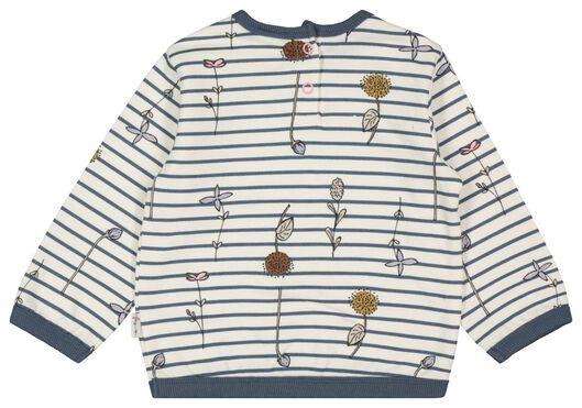 baby sweater stripes off-white off-white - 1000022118 - hema