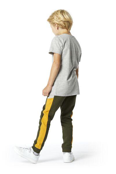 Kinder-Shirt, Biobaumwolle hellgrau hellgrau - 1000003388 - HEMA