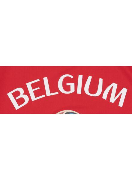 children's T-shirt WC Belgium red red - 1000007231 - hema