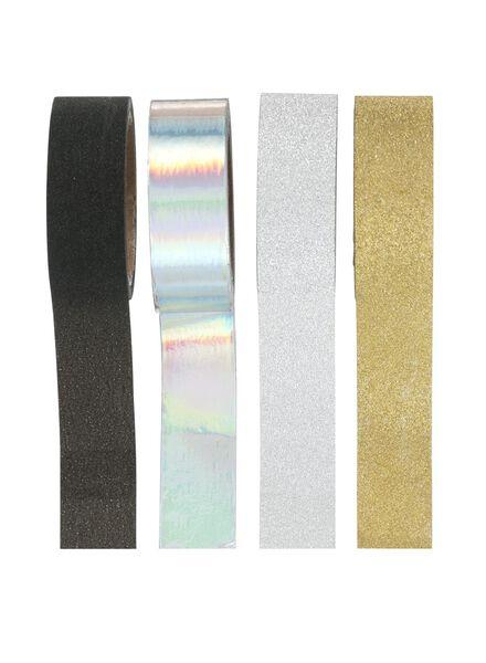 4er-Pack Washi Tape - 14822310 - HEMA